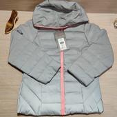 Модная рефлективная демисезонная куртка для девочки! 122 рост! 1299 грн по ценнику!