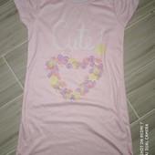 Ночная сорочка на девочку 8-9 лет замеры на фото