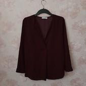 Красивая блуза , в бордовый принт ! УП скидка 10%