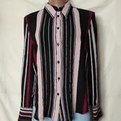 Фирменная фактурная блузочка в идеале! L/xl
