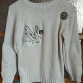 Стоп! ❤состояние отличное,фирменный свитер-реглан для подростка❤Собирайте лоты,экономьте на доставке