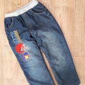 Теплющие джинсы на меху!Сост.отличное