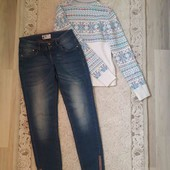 Мега лот!Кофта+джинси,сарафан в подарунок!