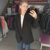 H&M пиджак мужской, можно носить как унисекс