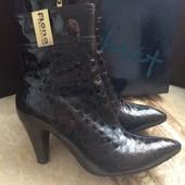 Кожаные ботиночки Flora collection 38 размер