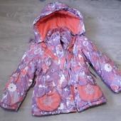 Зимняя курточка + жилетка, р. 98. Читаем описание