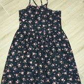 Primark красивое платье на девочку 8-10лет