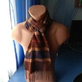 Тёплый мягенький шарф