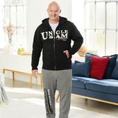 Батал! очень мягкие и комфортные спортивные штаны uncle sam, р. 2хl/60-62