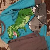 Піжама з динозавром на ріст 110-116см.