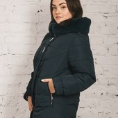 Супер-цена! Распродажа! Стильная чёрная куртка-пальто, 52, 54-56, 58 рр! (Можно на 60-62!)