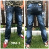 Фирменные качественные джинсы мужские Vigoocc, Турция, 100% коттон. 28, 30 pp, качество!