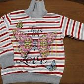теплый свитерок на 4-5 лет