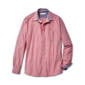 Стильная мужская рубашка M- L ворот 41/42 Tcm Tchibo Германия смотрите замеры