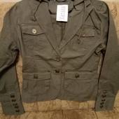 Классный натуральный пиджак-куртка
