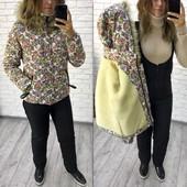 ~ Лыжный костюм, комбинезон и куртка на овчине 42-44 ~