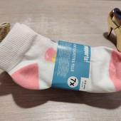 Германия!!! Лот из 7 коттоновых носочков с мороженками для девочки! 31-34размер!
