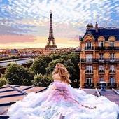 Картина по номерам Париж