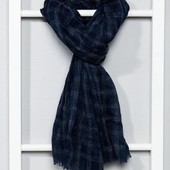 Большой шарф палантин унисекс французского бренда Kiabi , оригинал сток европа