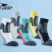 Crane 2 пары белые спортивные профессиональные носки для бега 35-38 р женские подростковые
