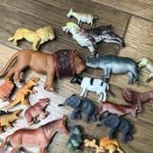 Игрушки животные Одним лотом
