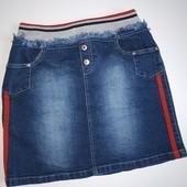 Юбка джинсовая lipgloss на 12-13 лет в идеале