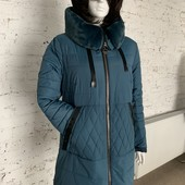 Цена снижена! Успейте! Стильная женская куртка-пальто зима 2020-2021, 52, 54, 56, 58 р