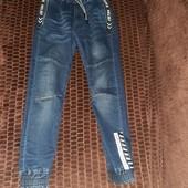 Симпатичні джинси на манжетах Р146