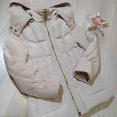 Нежная куртка Zara на пуху на 6-7лет.В достойном состоянии.