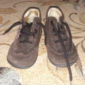 ботиночки замш