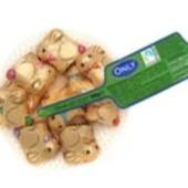 Конфеты шоколадные кролики (молочный шоколад) Onli 100г. Австрия
