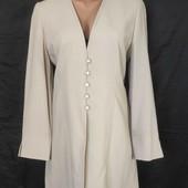 Классный удлиненный пиджак,100%шерсть,m