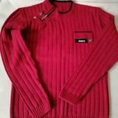 Стильный свитер на подростка на р. 146-152