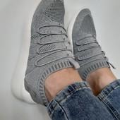 кроссовки женские текстильные, распродажа последних размеров