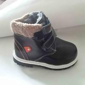 Зимние ботиночки для мальчиков 28-29р