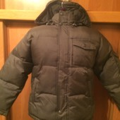 Куртка, зима, внутри флис, размер 7-8 лет 128 см, Next. состояние отличное