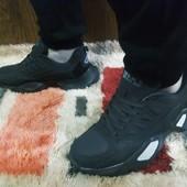 Кроссовки мужские эко нубук фирма КМВ на шнуровке.Качество