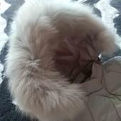 Пухова курточка з натуральною опушкою