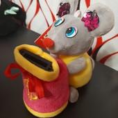 Прекрасный подарок- обалденно- поющая мышка- копилка при кидании денюжки !!!