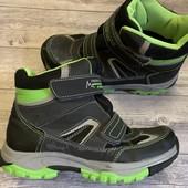 Термо ботиночки Del Tex 35 размер стелька 22,5 сми
