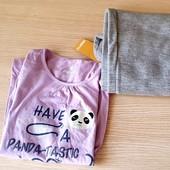 Мила піжамка на дівчинку, розм 122/128 , бренд pepperts Геpманія, флісові штани+реглан