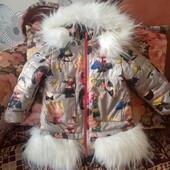 Курточка для принцески. Стан нової.
