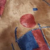 Комплект для детской:шторы,покрывало,подушки,ламбрекен.Очень красивый !
