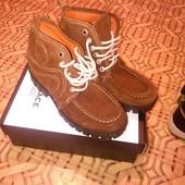 Ботинки набук состояние нового!