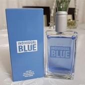 Мужская туалетная вода Individual Blue 100мл. Для настоящих мужчин. Смотрим лоты и клумбу!