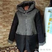 Стильная зимняя куртка на 52-54р. Новая! Последний Размер.