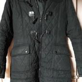 Отличное Пальто чёрное размер 44-46