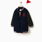 Теплое пальто Zara 164р