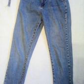 классные джинсы мом с высокой талией Турция