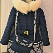 Зимнее пальто от тм KIKO